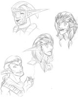 Jak and Daxter-sketch 3 by Jakette