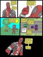 Deadpool and the environment by TheGRIZZAMman