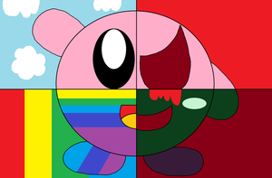 Four sides of Kirby by PenelopeHamuChan