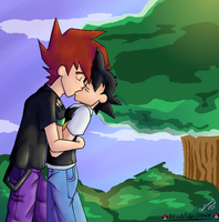 Palletshipping-Passionate Kiss by AmeUchikina-Chan