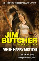 Mock-up Cover: Dresden Files: When Harry Met Eve by capricorn116
