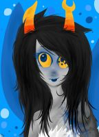 HS: Lineless Fairy Vriska by sariasong64