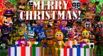 FNAF World Merry Christmas! by freakness96