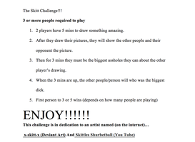The Skitt Challenge!!! by TitanDemo