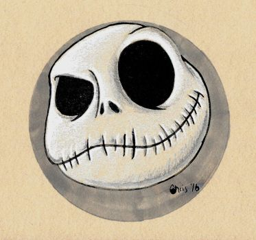 Jack Skellington now with Added Pencils! by Caerban