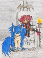 Vampire Princess and Protector by bluefantasy