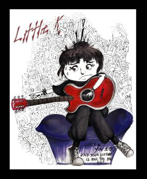 Little K guitar by SibylWhite