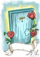 Poppy Door by 71ADL17