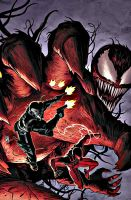 spiderman vs carnage by ProfoundRounds