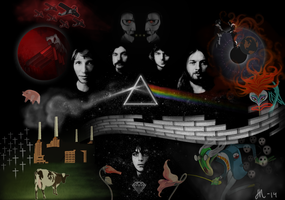 Pink Floyd tribute by JohannaHelena