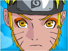 Naruto in Sage Mode by Aubzy