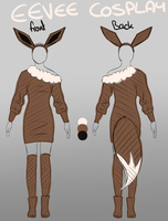eevee cosplay design by Lumisaurus
