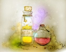 Potions Set by epicondyle