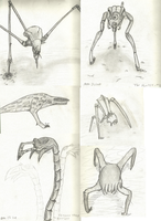 Half Life Sketchdump by QQ-Incorperated