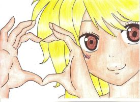 Lucy Heart by narutofanforever123