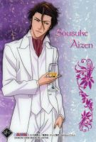 Sousuke Aizen in suit by FearBe