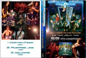 DVD front and back by lxixska