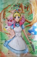 Alice in Wonderland by GGallerium
