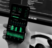 Green original theme for android Themer by homebridge