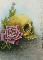 Skull and Roses. by RalucaFratea
