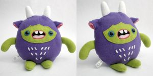 Nibbz - Monchi Monster Plush by yumcha
