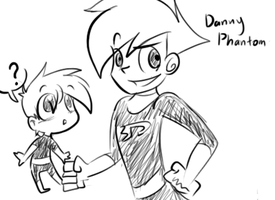 Danny sketche by raygirl12