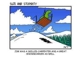 Snowboarder by Size-And-Stupidity