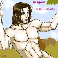 Aragorn, the great temptation by Lelia