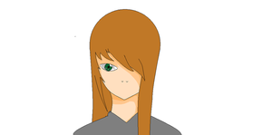 My attempt at drawing Alexa by TheFallenBlackRose