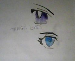 Anime Eyes *-* by MaguiPinkie