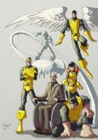 Classic X-Men by AdamMasterman
