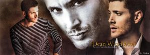 Dean Winchester/Jensen Ackles (Banner for FB) by Nadin7Angel