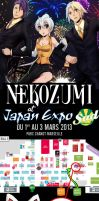 at JAPAN EXPO SUD by Nekozumi