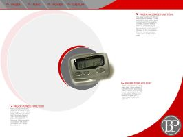 Pager Techno Design by pandrogas