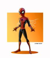 spider kid by VdVector