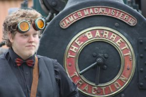 Steampunk Outfit - Photo 2 by vanbangerburger