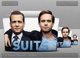 Suits - Tv Series Folder Icon by atty12
