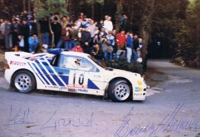 1986, Kalle Grundell, Ford, Rally Portugal, Sintra by F1PAM