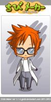 Chibi Maker series PPGD - Dexter the Boy Genius by snitchpogi12