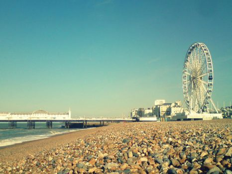 Good Morning Brighton by themagpiepoet