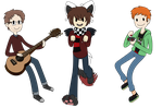 AT: Pixel-Bit Family by Charlockle