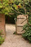 Chalice Well Garden Gate by FoxStox
