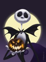 Jack Skellington by RodrigoDiazAravena