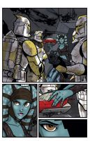 Clone Wars 13 Page 5 Colors by Hodges-Art