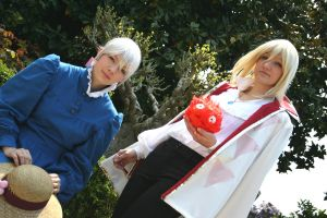 Howl and Sophie by Elsa-Cosplay