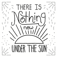 Nothing New - Free lettering by Emberblue