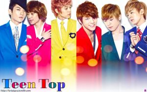 Teen Top - colors by Sweetkrystyna