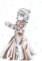 Snow is falling... by Mangamania13