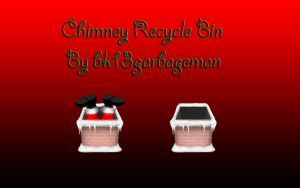 Chimney Recycle Bin by bk13garbageman