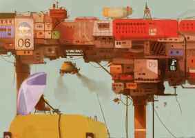 Rig City by DimasAW